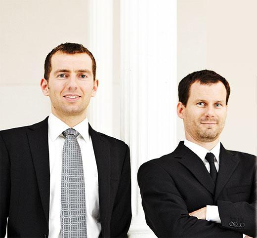 Dr. Uwe Rathausky und Henrik Muhle